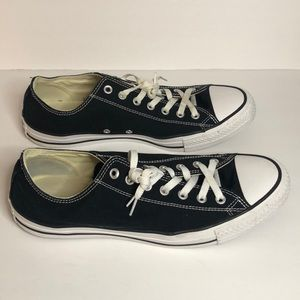 Men's Black and White Converse